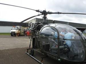 Alouette Hubschrauber