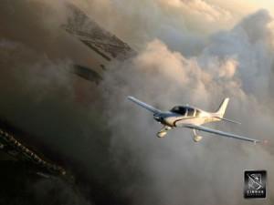 Motorflugzeug Cirrus SR 22