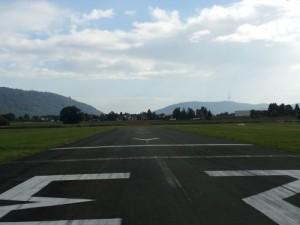 Landebahn Flugplatz Porta Westfalica