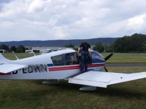 Rundflüge mit Motorflugzeugen