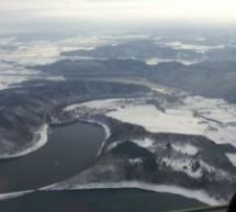 Winter Rundflug von Porta Westfalica über Kassel, Siegerland, Rothaargebirge – Sauerland und Paderborn