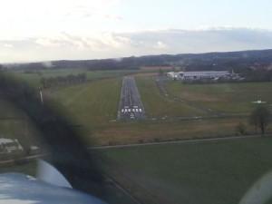 Damme Anflug Landebahn 28