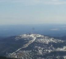 Rundflug über den Harz, Brocken, Wernigerode, Quedlinburg nach Ballenstedt
