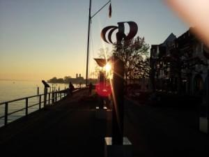 Friedrichshafen Promenade Sonnenuntergang