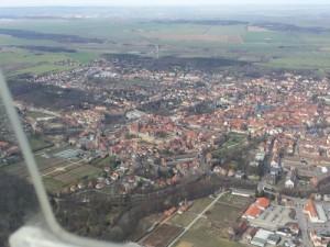 Quedlinburg aus der Luft