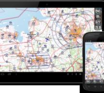 Günstige GPS Pilotennavigation mit VFRnav einer Android basierten Lösung