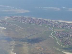 Baltrum Flugplatz und Ort