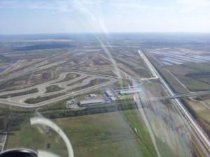Mercedes Testgelände bei Papenburg