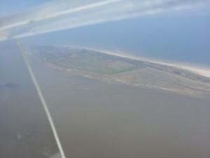 Wangerooge aus der Luft
