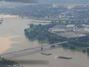Mündung Ruhr Rhein