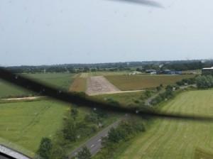 Flugplatz Beccles Anflug