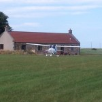 Kingsmuir Schottland Flugplatz