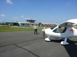 Flugplatz Nottingham England