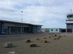 Flugplatz Wick Schottland