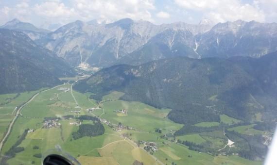 Rundflug in die Alpen: Watzmann, Königssee, Zell am See, Wilder Kaiser, Chiemsee