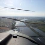 Straubing Anflug Flugplatz
