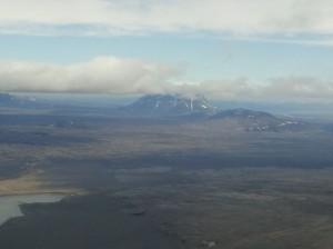 Askja Vulkan Island