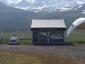 Flugplatz Borgafjördur