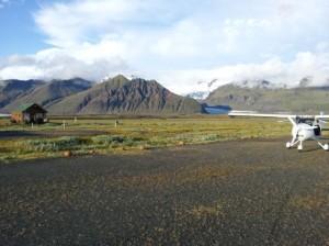 Ultraleichtflugzeug CTSW in Skaftafell