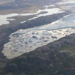 Eisberge in Eislagune Island
