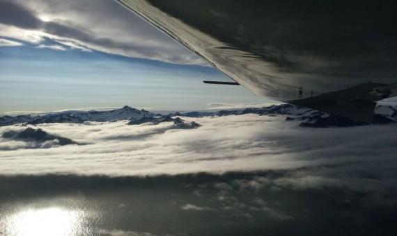 Fliegen in Island – Mit dem Ultraleichtflugzeug zwischen Gletscher und Vulkane