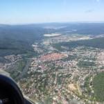 Flug über Hannoversch Münden