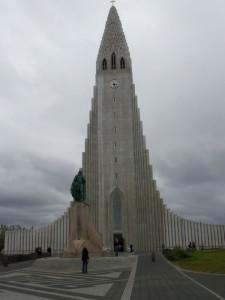 Hallgrimskirkja Cathedral Reykjavik