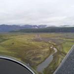 Landung Flugplatz Skaftafell