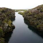 Silfra Spalte Island