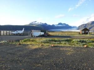 Flugplatz von Skaftafell