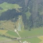 Skisprungschanze bei Saalfelden
