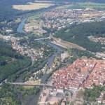 Mündung von Werra und Fulda in Weser